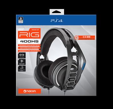 Bigben Interactive Nacon RIG 400HS Official Licensed Gaming Headset (zwart)