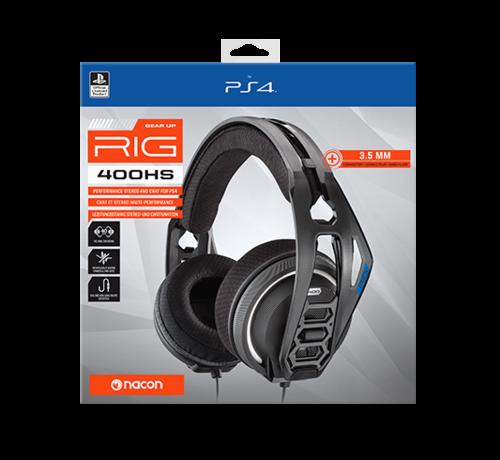 Bigben Interactive Nacon RIG 400HS Official Licensed Gaming Headset (zwart) kopen