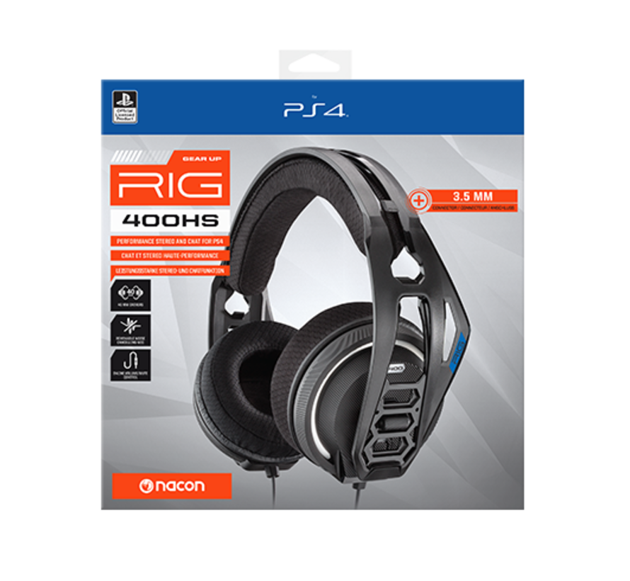 Nacon RIG 400HS Official Licensed Gaming Headset (zwart) kopen