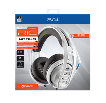 Bigben Interactive Nacon RIG 400HS Official Licensed Gaming Headset (wit)