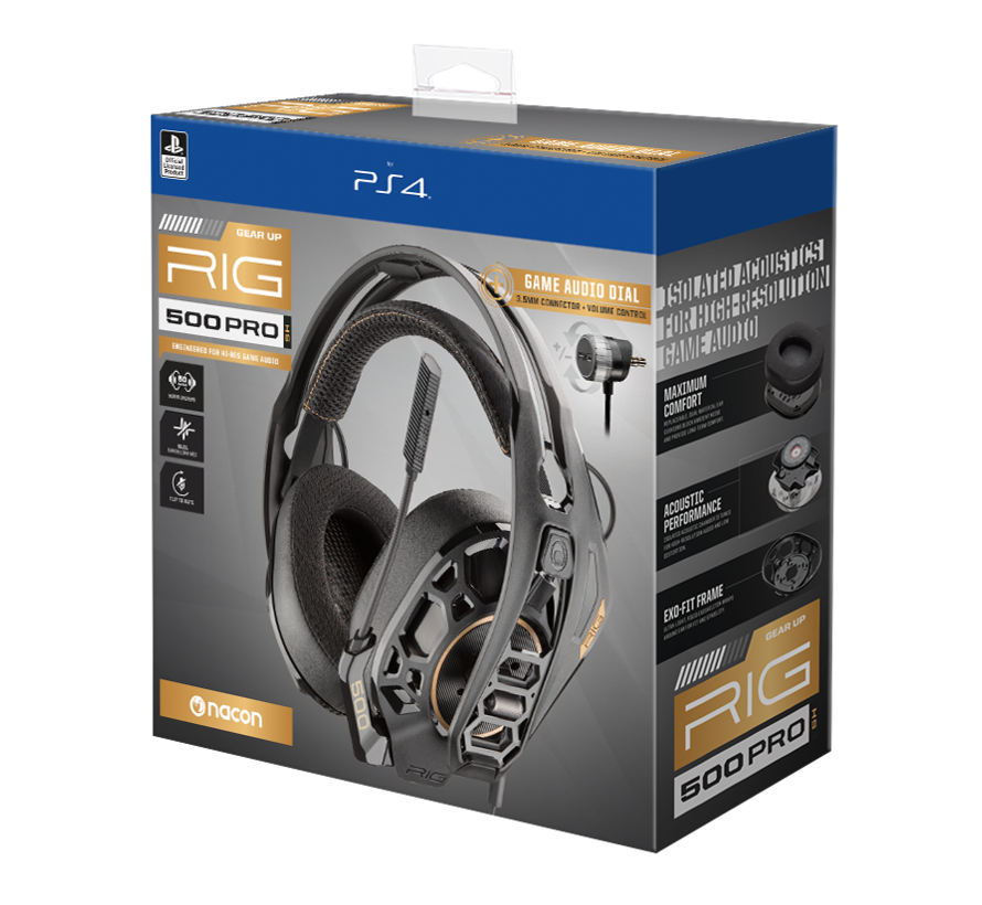 Nacon RIG 500 PRO HS Nacon Officially licensed Gaming Headset kopen