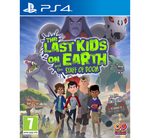 Bandai Namco PS4 The Last Kids on Earth and the Staff of Doom kopen