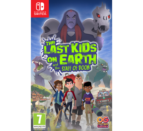 Bandai Namco Nintendo Switch The Last Kids on Earth and the Staff of Doom kopen