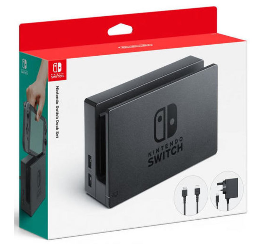 Nintendo Switch Houderset (Zwart) kopen