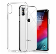 JVS Products iPhone XS Max Transparant Back Cover Hoesje - Extra Dun - Siliconen - Cover- Case - Apple iPhone XS Max