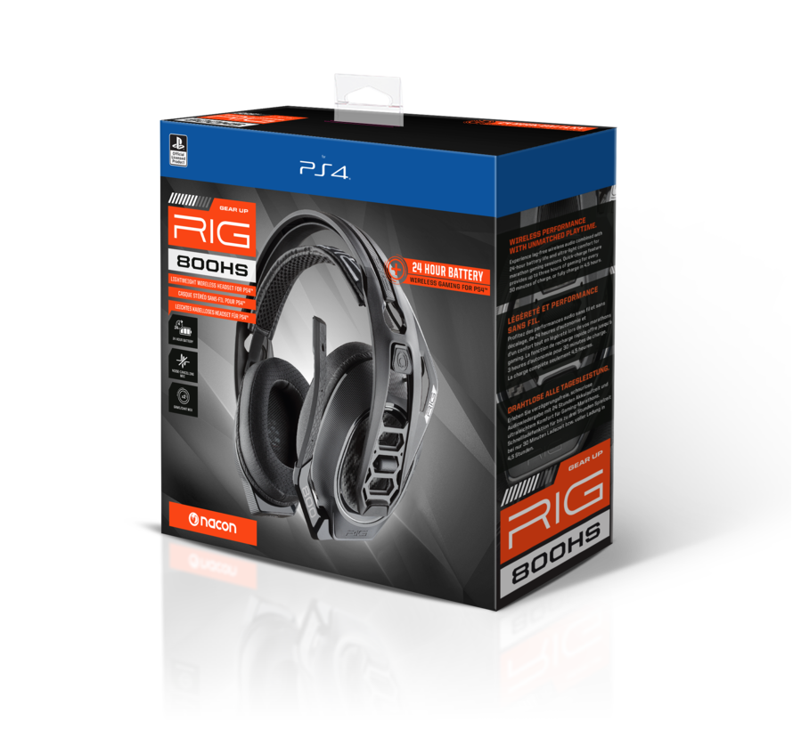 Nacon RIG 800HS Official Wireless Headset V2 kopen