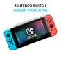 Nintendo Switch Tempered Glass Screenprotector Protection Kit - Nintendo Switch - Screen Protector Set