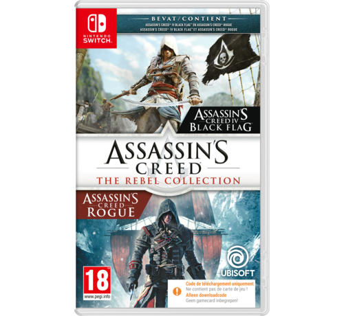 Ubisoft Nintendo Switch Assassin's Creed Rebel Collection (Code in a Box) kopen
