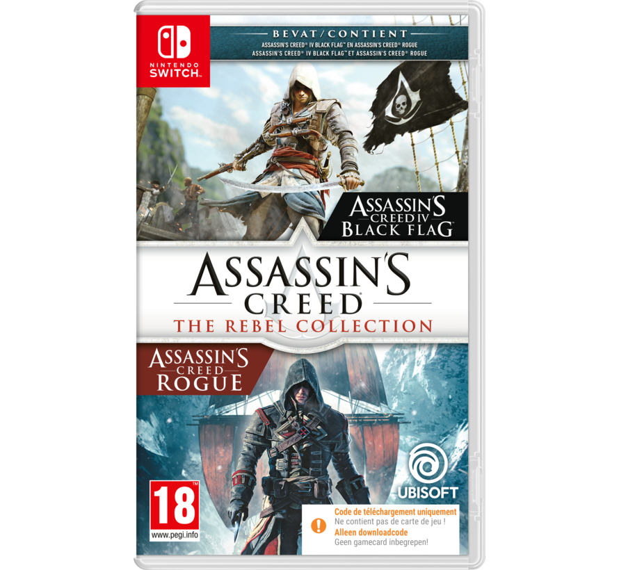 Nintendo Switch Assassin's Creed Rebel Collection (Code in a Box) kopen