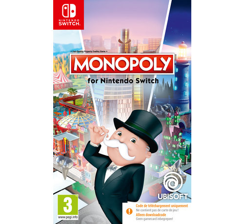 Ubisoft Nintendo Switch Monopoly (Code in a Box) kopen