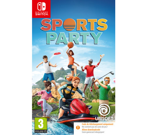 Ubisoft Nintendo Switch Sports Party (Code in a Box) kopen