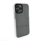 iPhone 12 Backcover Bumper Hoesje - Back cover - case - Apple iPhone 12 - Transparant / Wit