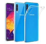 JVS Products Samsung Galaxy A50 hoesje siliconen extra dun transparant - Samsung Galaxy A50 hoes cover case