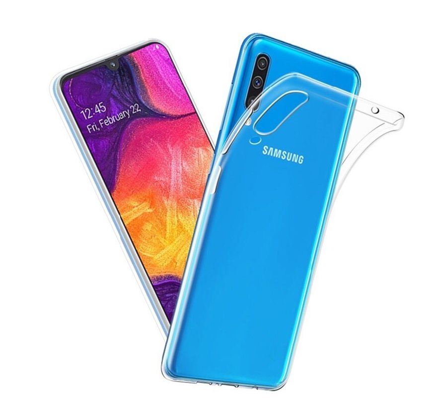 Samsung Galaxy A50 Transparant Back Cover Hoesje - Extra Dun - Siliconen - Cover- Case - Samsung Galaxy A50