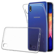 JVS Products Samsung Galaxy A10 Transparant Back Cover Hoesje - Extra Dun - Siliconen - Cover- Case - Samsung Galaxy A10