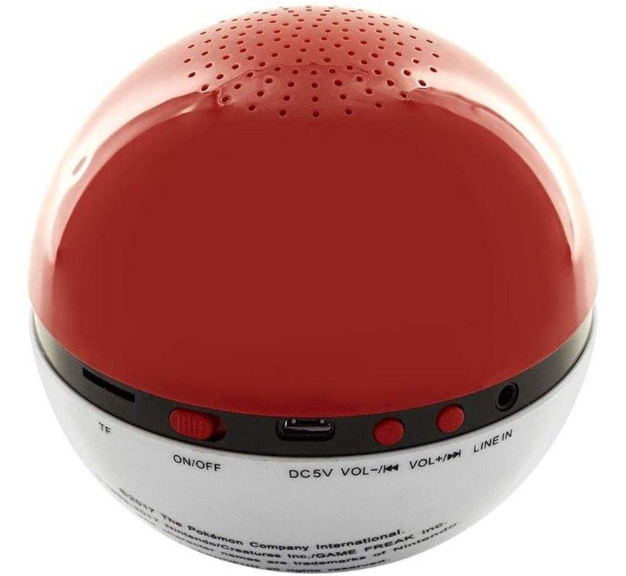 Teknofun Pokemon Wireless Speaker + Aux - Pokeball Kopen