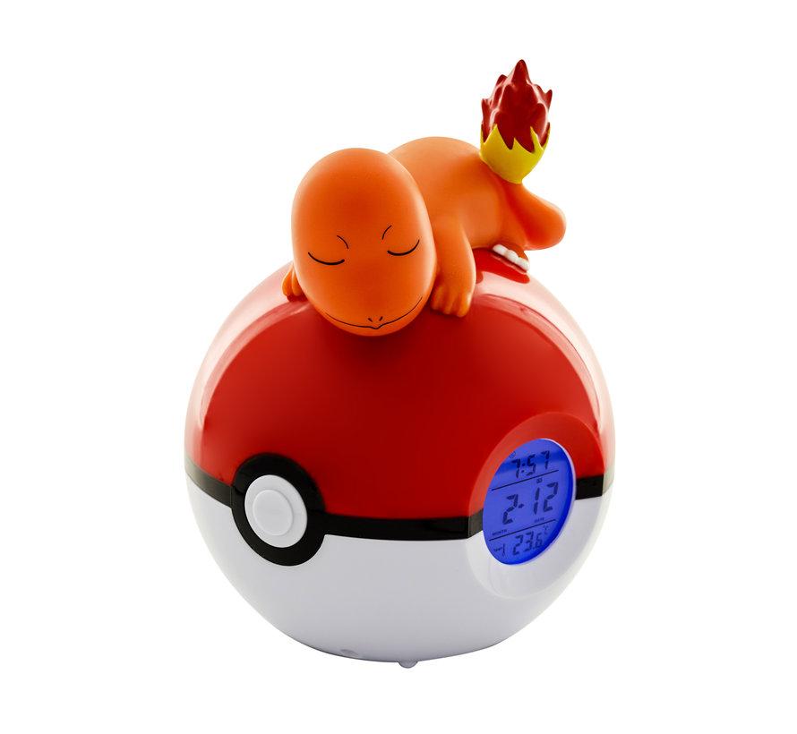 Teknofun Pokemon Radio Clock Pokeball - Charmander Kopen