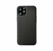 JVS Products iPhone XS Max Back Cover Hoesje - Stof Patroon - Siliconen - Backcover - Apple iPhone XS Max - Zwart