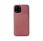 iPhone 11 Pro Max Back Cover Hoesje - Stof Patroon - Siliconen - Backcover - Apple iPhone 11 Pro Max - Roze