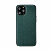 JVS Products iPhone 11 Pro Max Back Cover Hoesje - Stof Patroon - Siliconen - Backcover - Apple iPhone 11 Pro Max - Groen