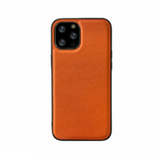 JVS Products iPhone 12 Back Cover Hoesje - Stof Patroon - Siliconen - Backcover - Apple iPhone 12 - Oranje