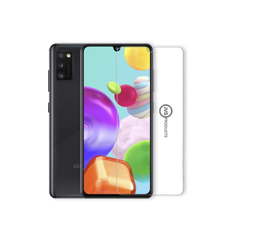 Samsung Galaxy A41 Transparant Hoesje + GRATIS Screenprotector - Transparant - Extra Dun - Samsung Galaxy A41 - Hoes - Cover - Case - Screenprotector kit