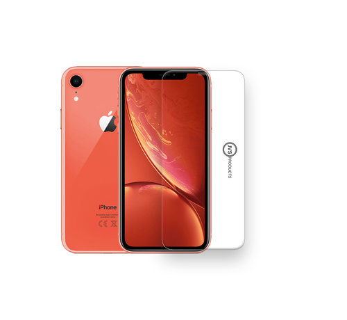 JVS Products iPhone XR Tempered Glass Screenprotector Protection Kit - Apple iPhone XR - Screen Protector Set
