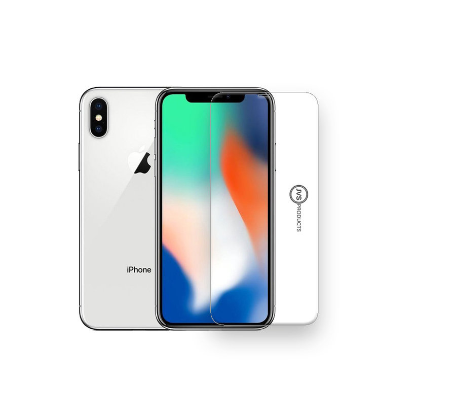 iPhone X / 10 Tempered Glass Screenprotector Protection Kit - Apple iPhone X / 10 - Screen Protector Set