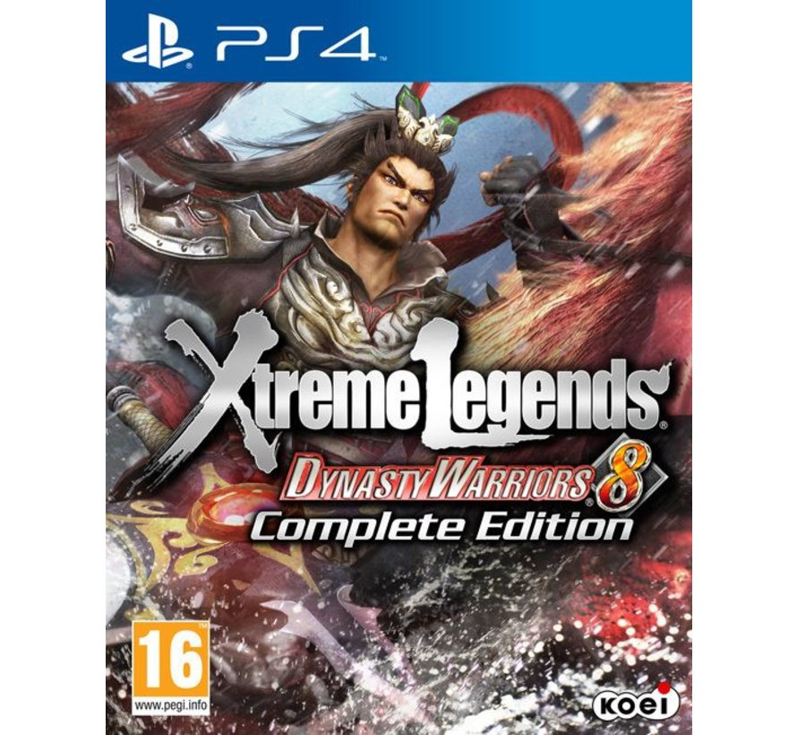 PS4 Dynasty Warriors 8: Xtreme Legends Complete Edition