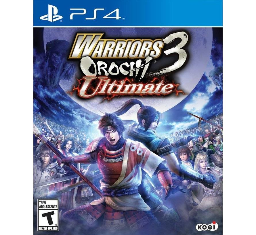 PS4 Warriors Orochi 3: Ultimate