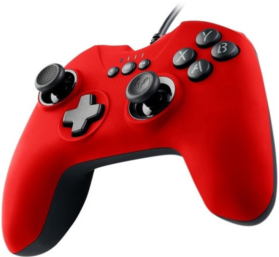 Nacon GC-100XF Wired Gaming Controller - PC - Rood kopen
