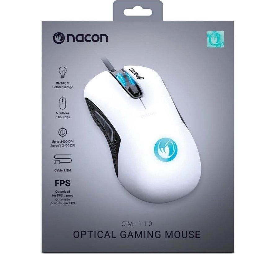 Nacon GM-110 Optische Gaming Muis voor PC - Wit kopen
