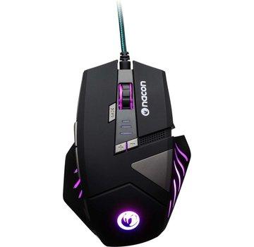 Nacon Nacon GM-300 Wired Gaming Muis - PC - Zwart - Multi Color LED