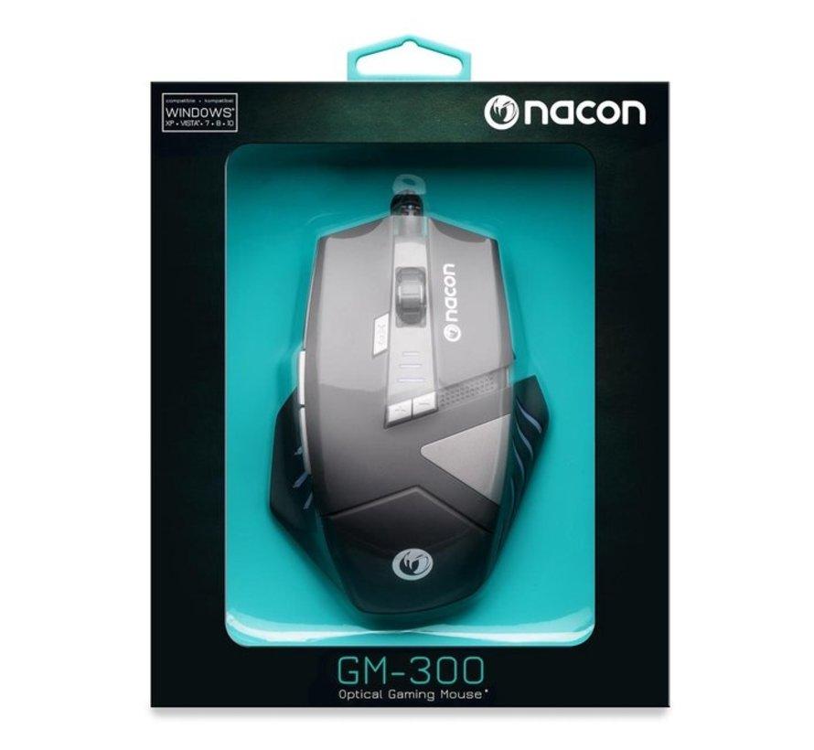 Nacon GM-300 Wired Gaming Muis - PC - Zwart - Multi Color LED kopen