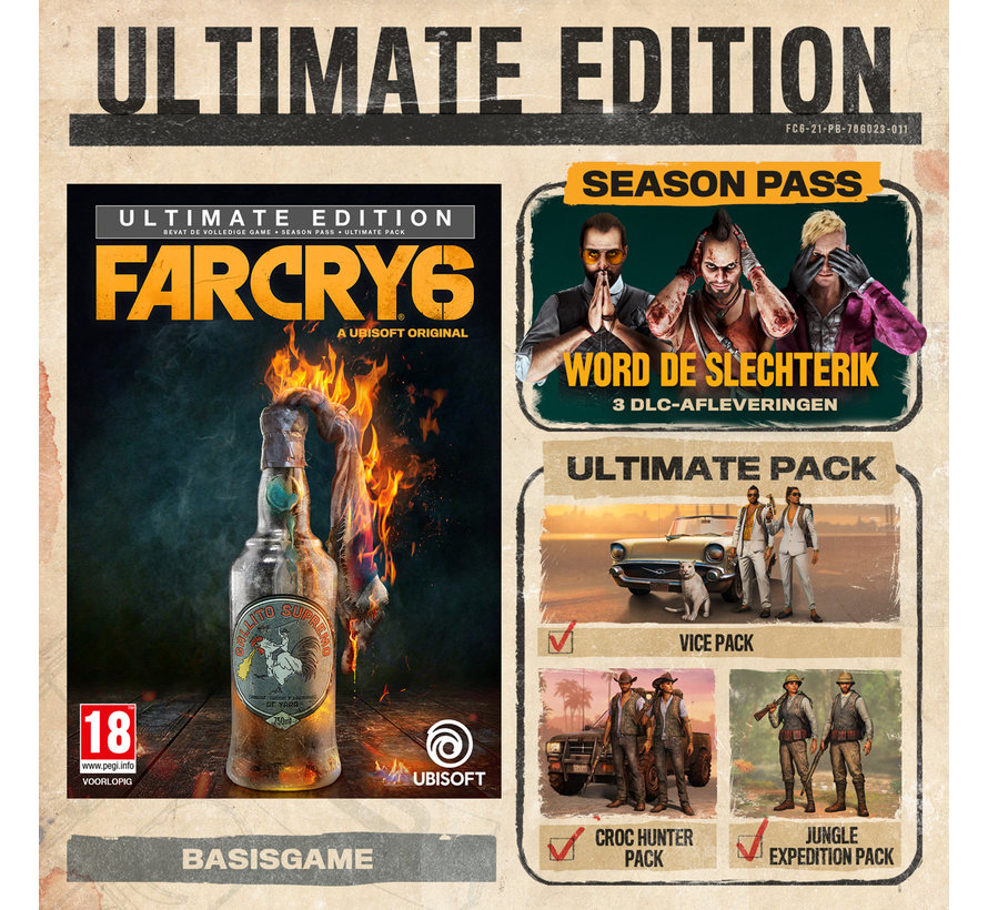 Xbox One/Series X Far Cry 6 - Ultimate Edition kopen