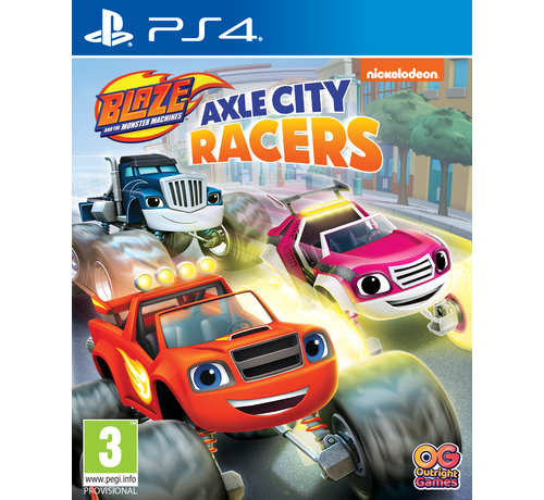 Bandai Namco PS4 Blaze and the Monster Machines: Axle City Racers kopen