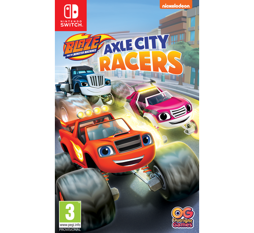 Bandai Namco Nintendo Switch Blaze and the Monster Machines: Axle City Racers kopen