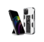 iPhone 11 Rugged Armor Back Cover Hoesje - Stevig - Heavy Duty - TPU - Shockproof Case - Apple iPhone 11 - Zilver