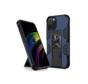 iPhone 12 Pro Max Rugged Armor Back Cover Hoesje - Stevig - Heavy Duty - TPU - Shockproof Case - Apple iPhone 12 Pro Max - Blauw