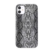 JVS Products iPhone 11 Pro Max Slangen Print Back Cover Hoesje - Patroon - TPU - Soft Case - Apple iPhone 11 Pro Max - Wit