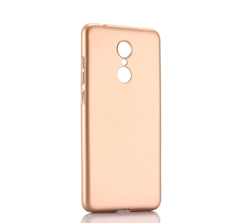 JVS Products iPhone X/10 Extra Dun Back Cover Hoesje - Hardcase - Hard Kunststof - Apple iPhone X/10 - Goud