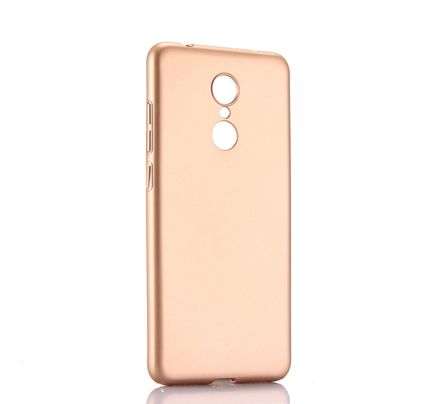 iPhone XS Max Extra Dun Back Cover Hoesje - Hardcase - Hard Kunststof - Apple iPhone XS Max - Goud