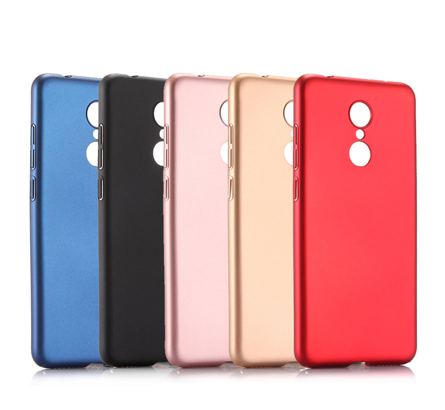 iPhone XS Max Extra Dun Back Cover Hoesje - Hardcase - Hard Kunststof - Apple iPhone XS Max - Rood