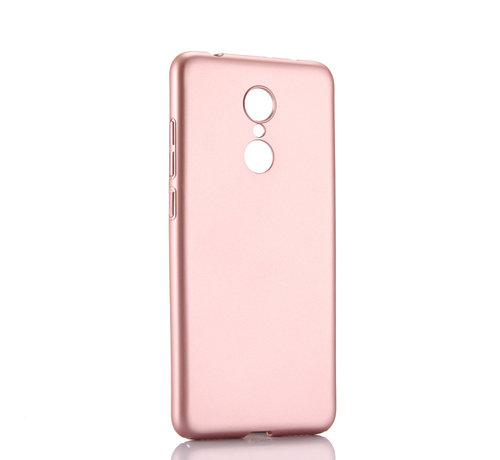 JVS Products iPhone XS Max Extra Dun Back Cover Hoesje - Hardcase - Hard Kunststof - Apple iPhone XS Max - Rose Goud