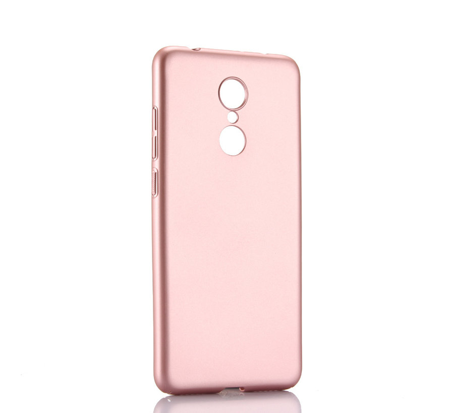 iPhone XS Max Extra Dun Back Cover Hoesje - Hardcase - Hard Kunststof - Apple iPhone XS Max - Rose Goud