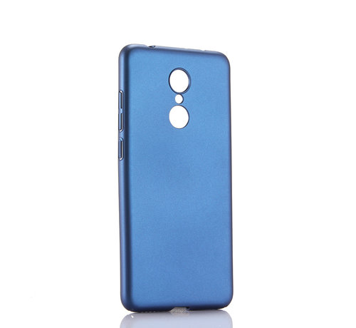 JVS Products iPhone XS Max Extra Dun Back Cover Hoesje - Hardcase - Hard Kunststof - Apple iPhone XS Max - Blauw