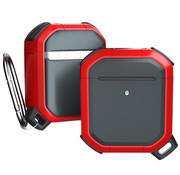 JVS Products Apple Airpods Pro Armor Case - TPU - Sleutelhanger - Hardcase - Apple Airpods - Rood
