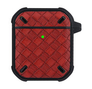 JVS Products Apple Airpods Pro Silliconen Case - Softcase - Sleutelhanger - Beschermhoesje - Apple Airpods - Rood