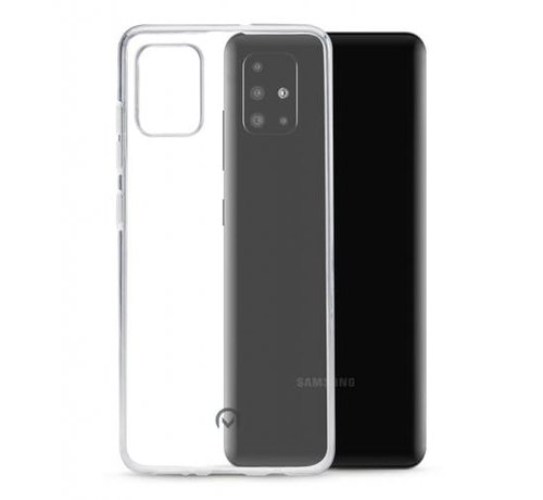 JVS Products Samsung Galaxy A51 Transparant Back Cover Hoesje - Extra Dun - Siliconen - Cover- Case - Samsung Galaxy A51