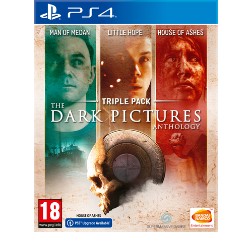 Bandai Namco PS4 Triple Pack - The Dark Pictures Anthology kopen